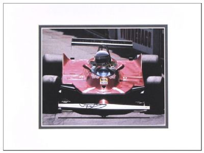 Jody Scheckter Genuine Autograph Signed Photo